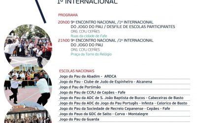 9º Encontro Nacional / 1º Internacional de Jogo do Pau | FAFE 2019
